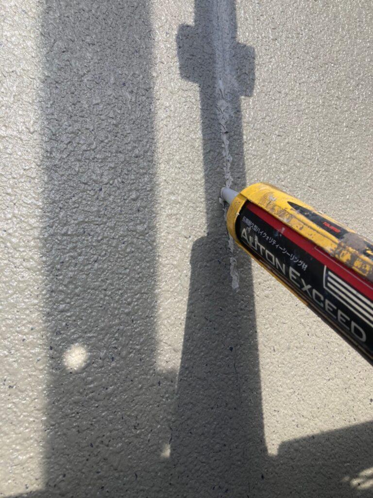 飯塚市 外壁下塗りとヒビ割れ補修 写真8