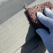 飯塚市 屋根板金錆止め塗装と屋根下塗り