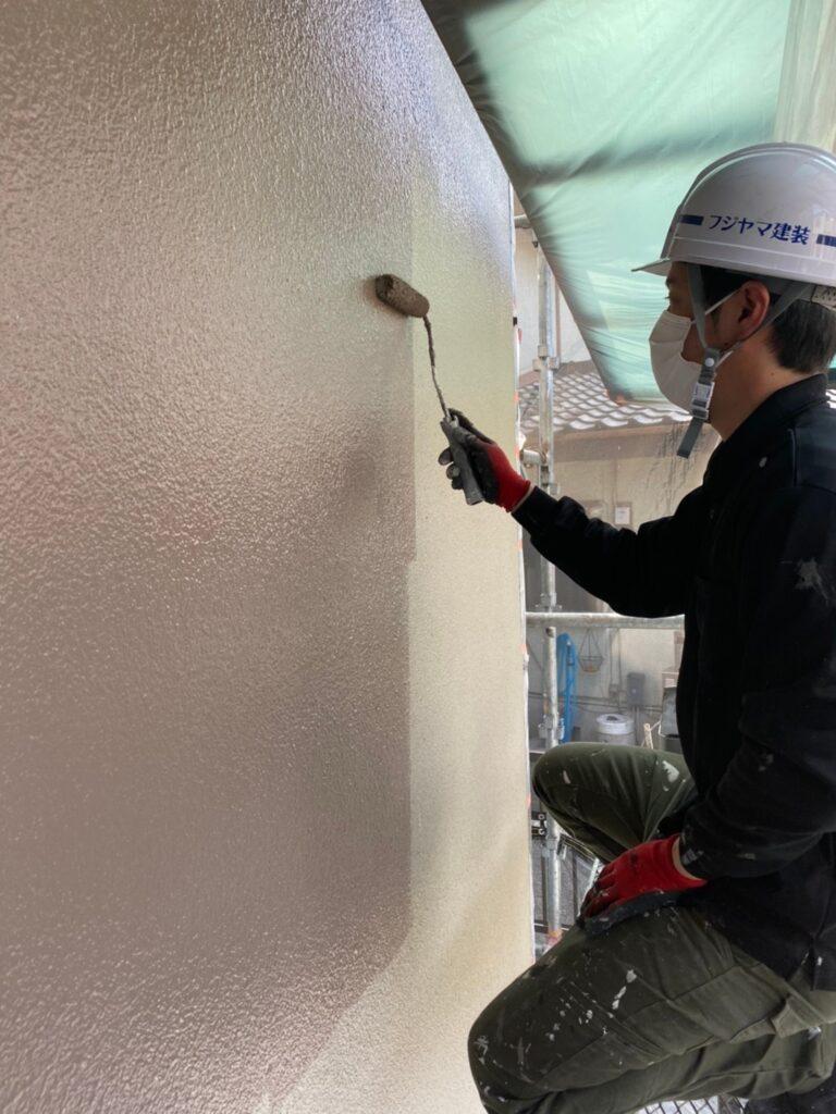 飯塚市 外壁中塗りと屋根ヒビ割れ補修 写真13