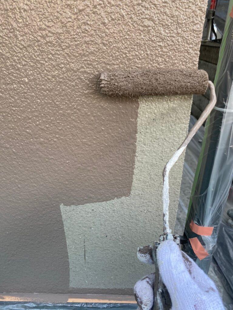 飯塚市 外壁中塗りと屋根ヒビ割れ補修 写真15
