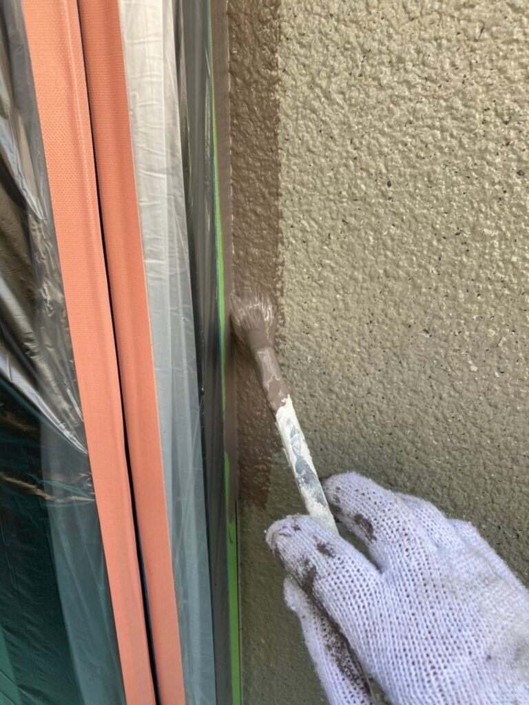 飯塚市 外壁中塗りと屋根ヒビ割れ補修 写真16