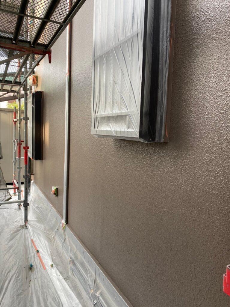 飯塚市 外壁中塗りと屋根ヒビ割れ補修 写真17