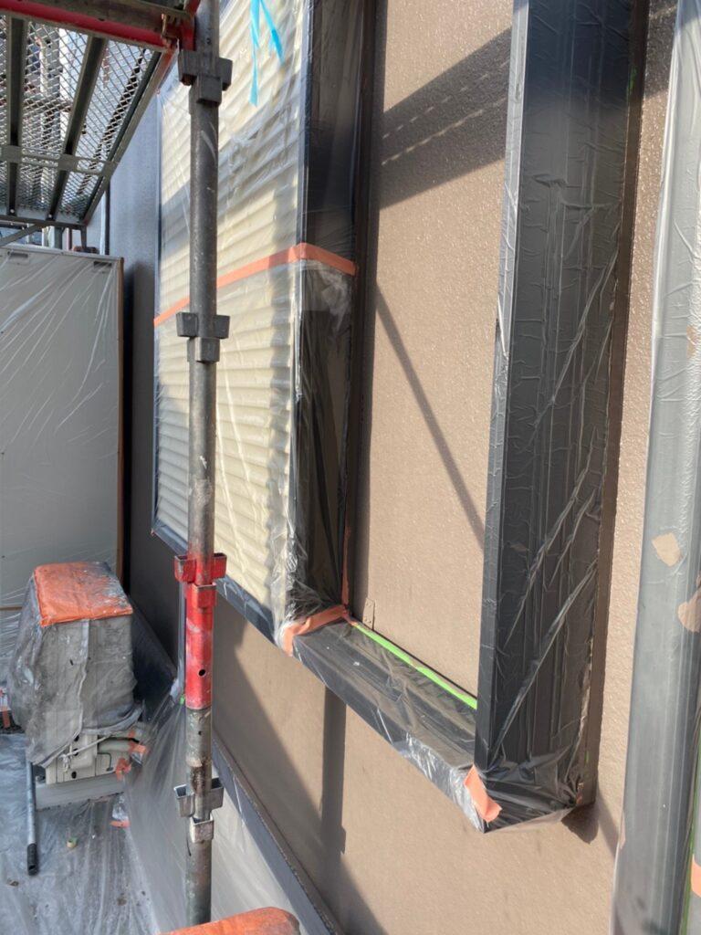 飯塚市 外壁中塗りと屋根ヒビ割れ補修 写真20