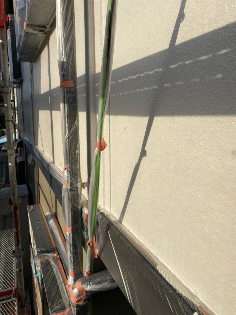 飯塚市 外壁中塗りと屋根ヒビ割れ補修 写真7