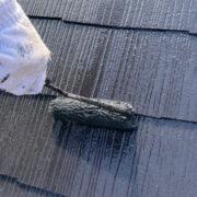 飯塚市 雨戸上塗りと屋根上塗りなど