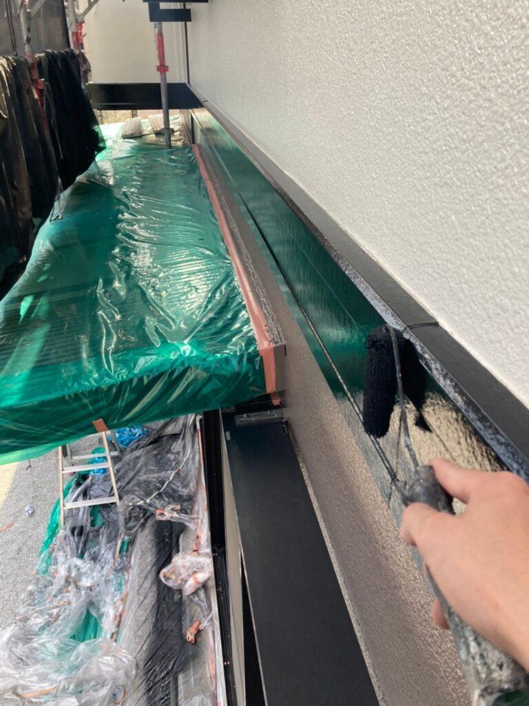 飯塚市 付帯塗装作業 写真15