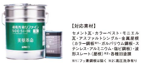 超低汚染リファイン500Si-IR