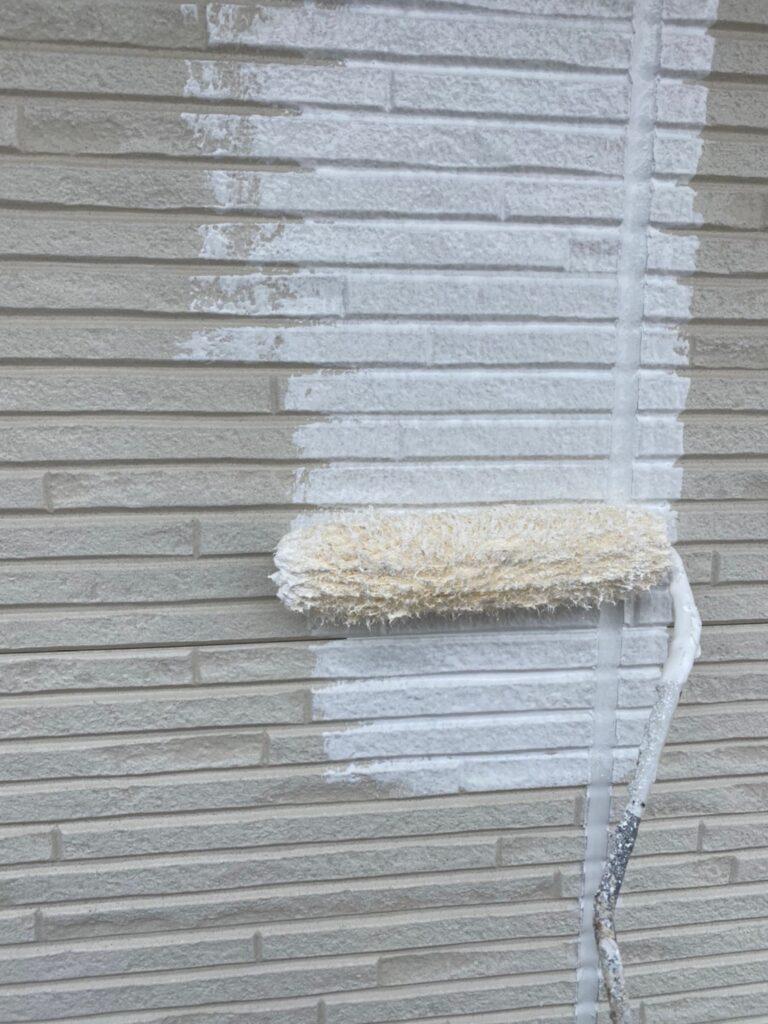 福岡市 軒天塗装と外壁下塗り 写真11