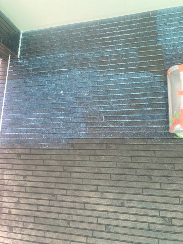 福岡市 軒天塗装と外壁下塗り 写真22