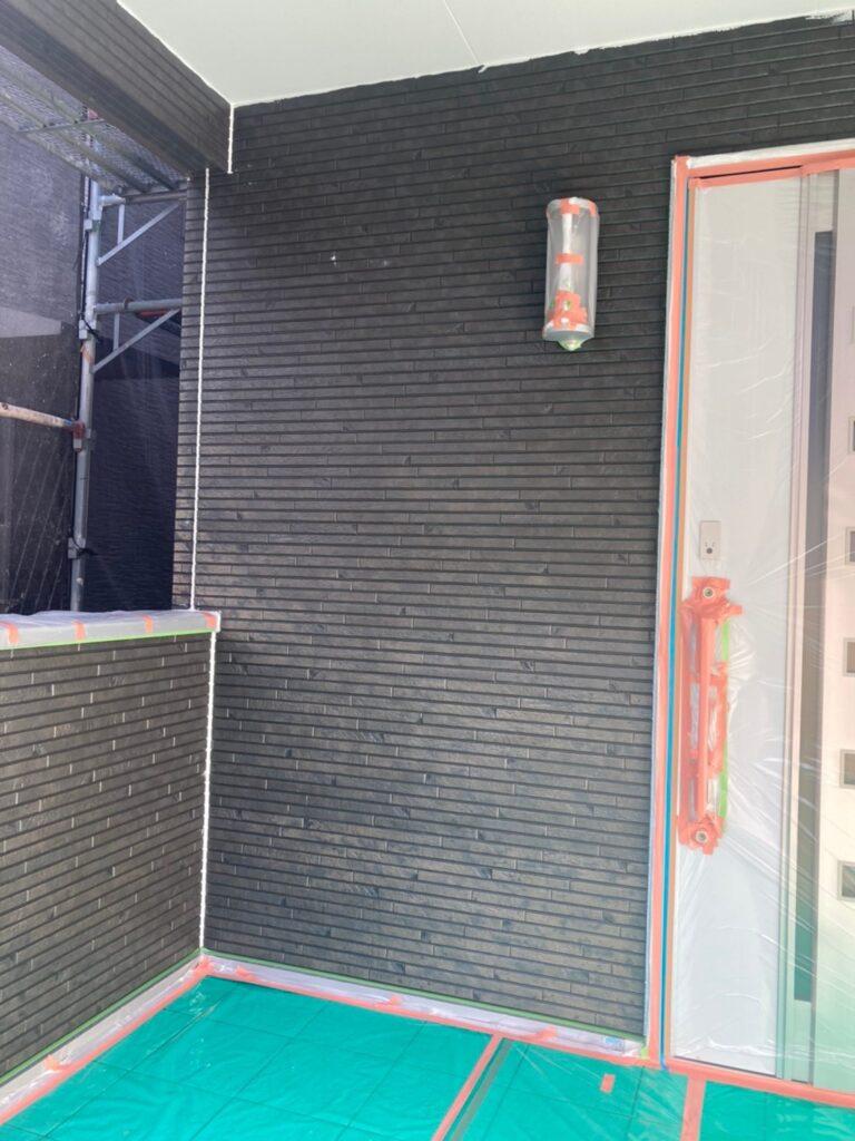 福岡市 軒天塗装と外壁下塗り 写真24