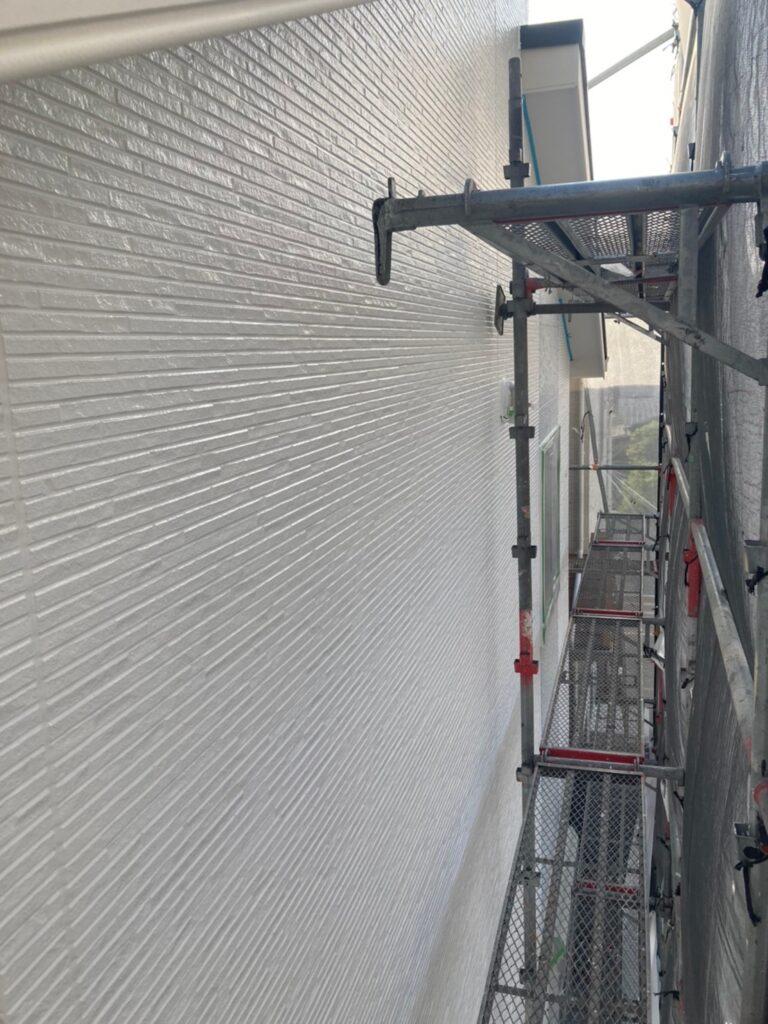 福岡市 外壁中塗り 写真11
