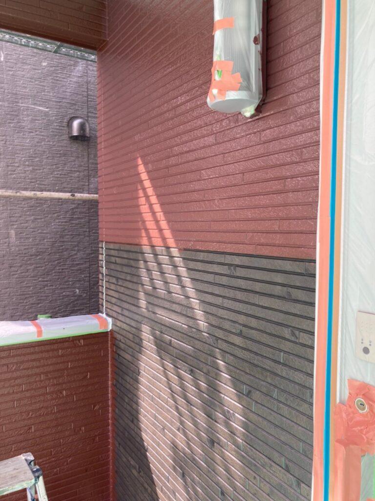 福岡市 外壁中塗り 写真16