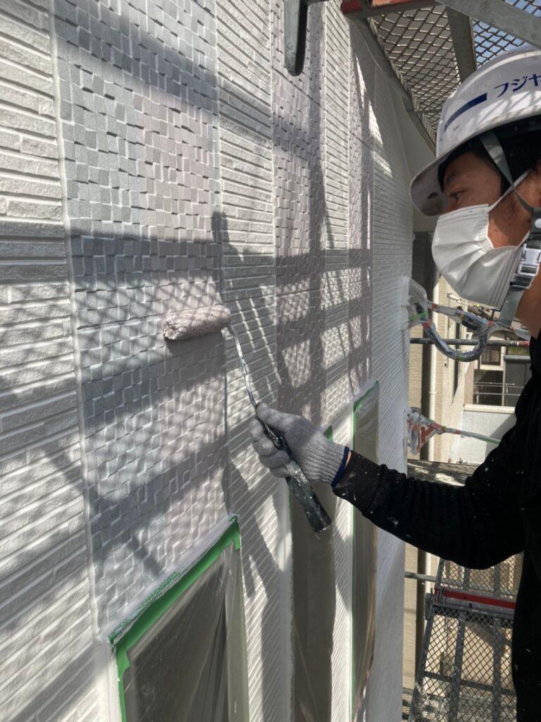 福岡市 外壁中塗り 写真18