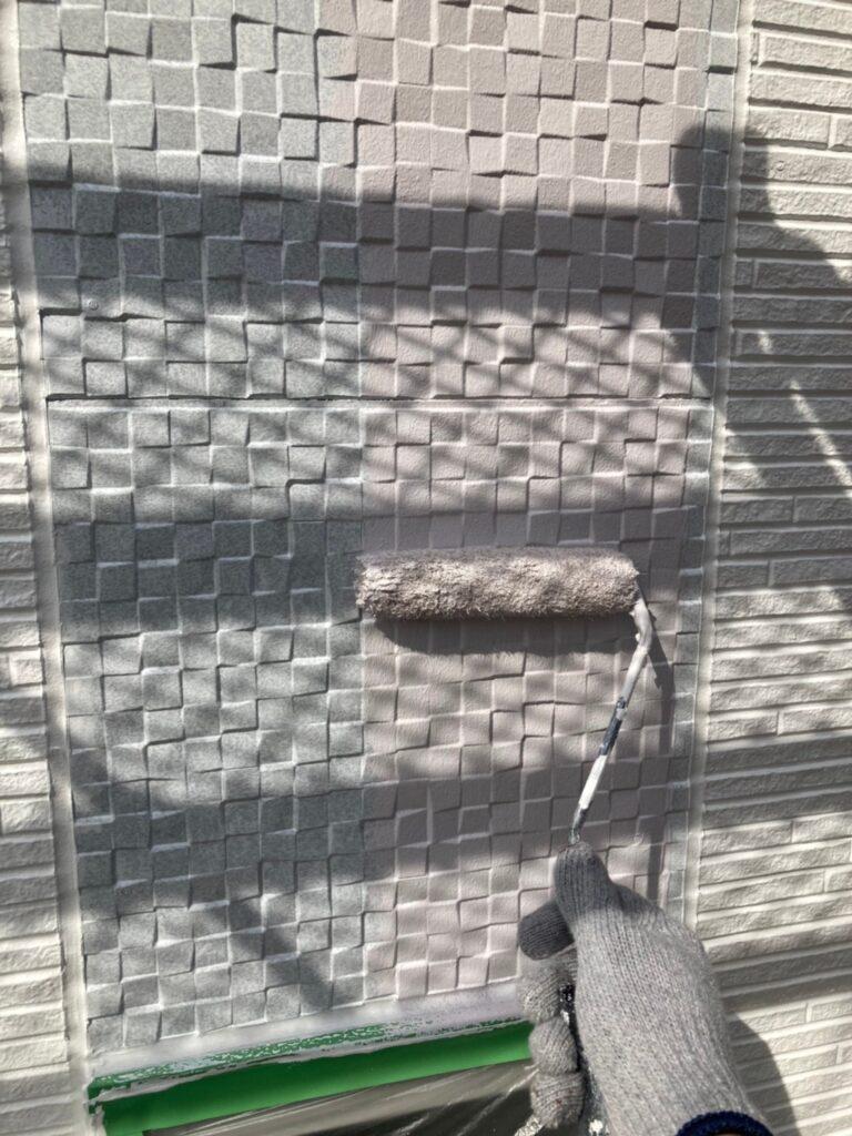 福岡市 外壁中塗り 写真19