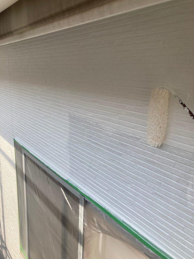 福岡市 外壁中塗り 写真5