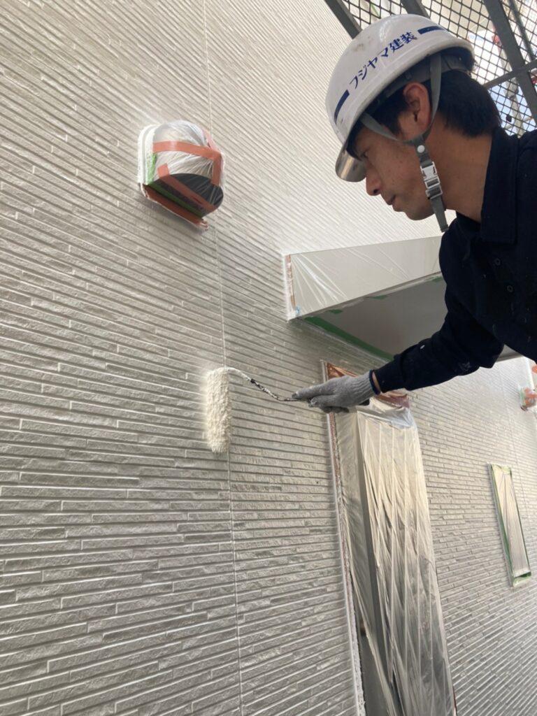 福岡市 外壁中塗り 写真6