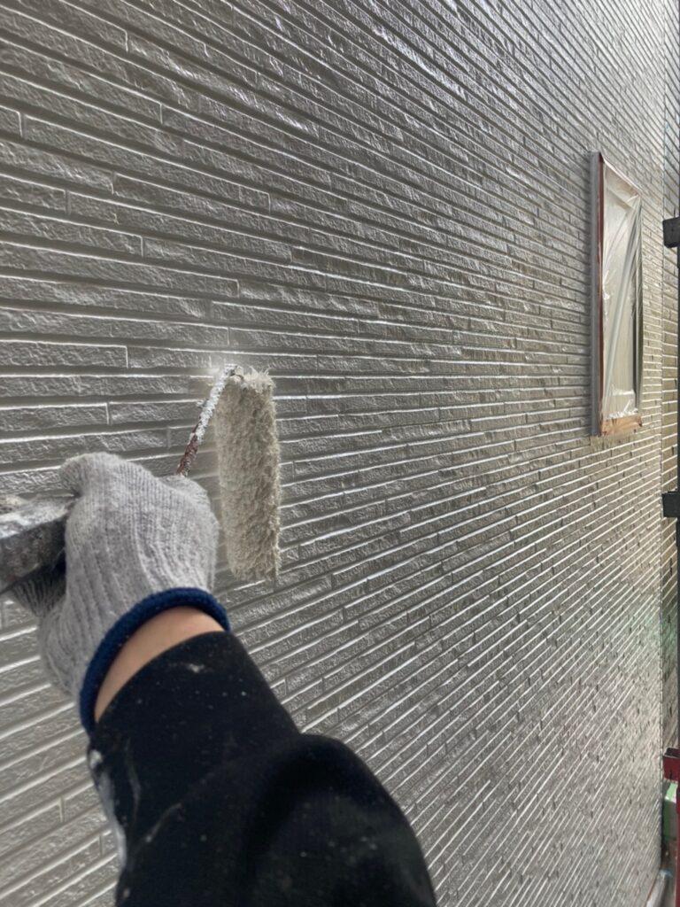 福岡市 外壁中塗り 写真7