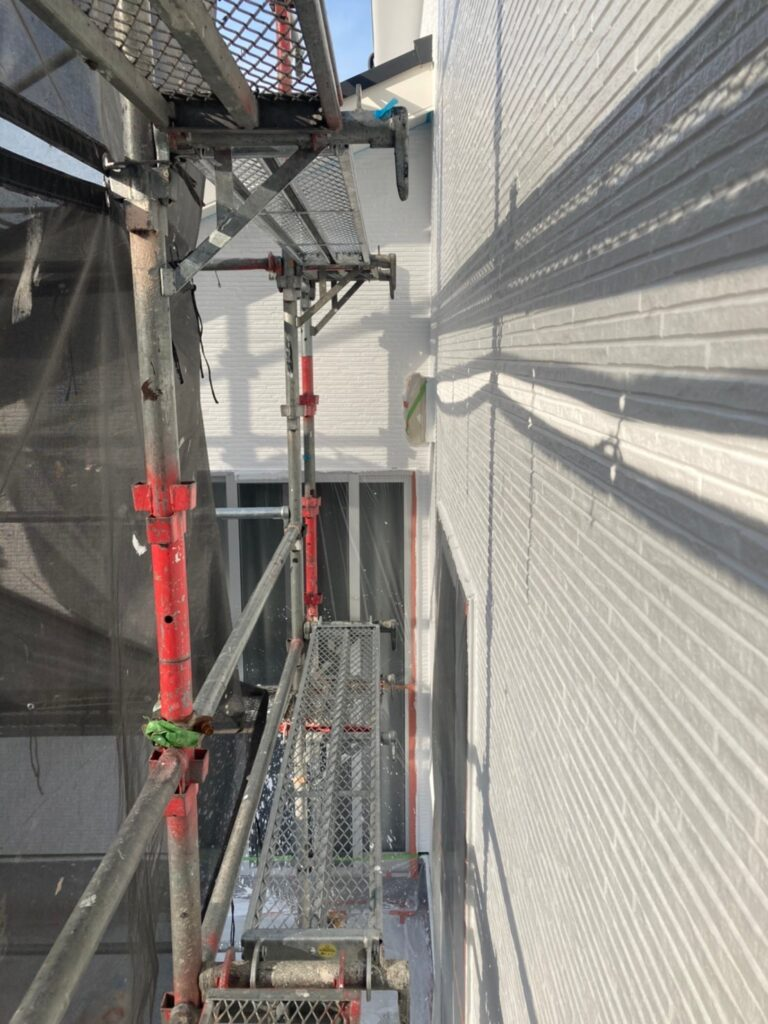 福岡市 外壁中塗り 写真9