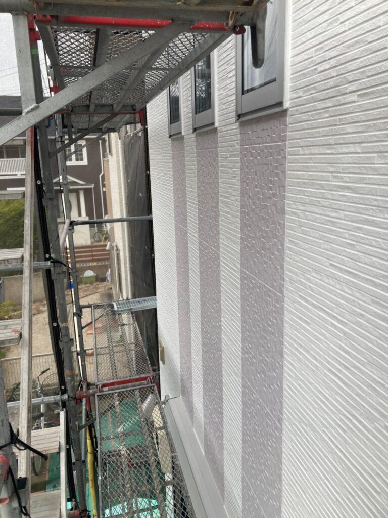 福岡市 外壁上塗りと屋根下塗り 写真11