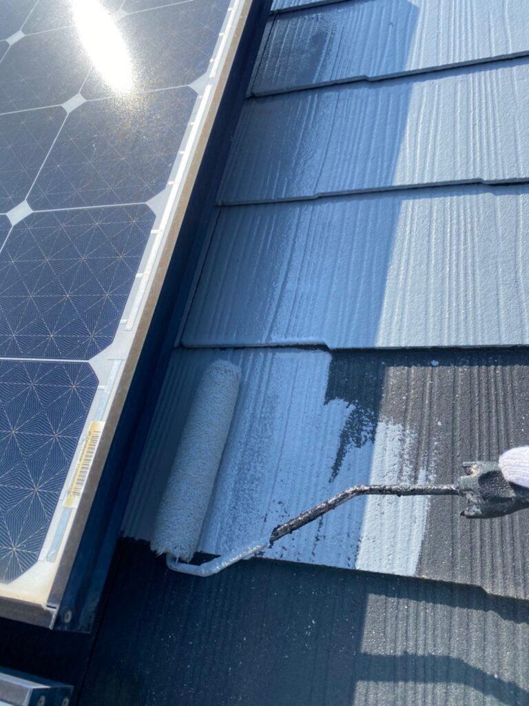 福岡市 外壁上塗りと屋根下塗り 写真14