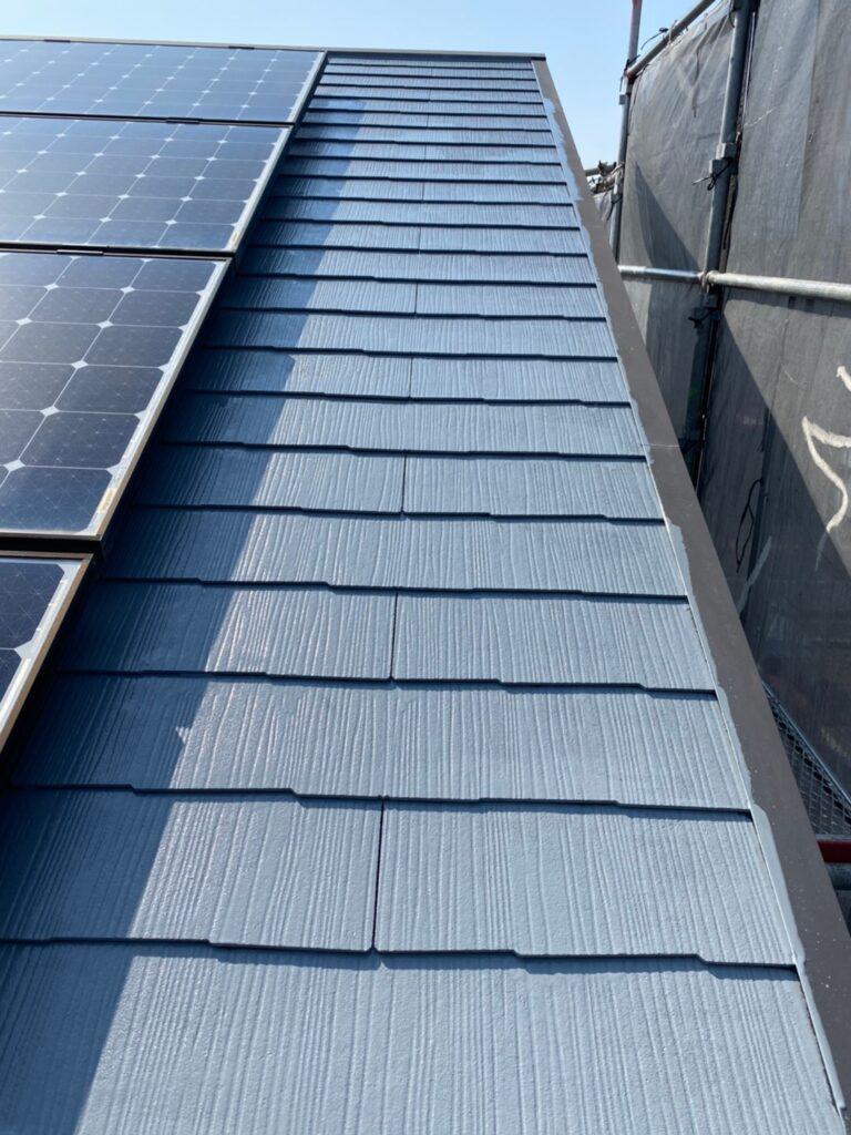 福岡市 外壁上塗りと屋根下塗り 写真15
