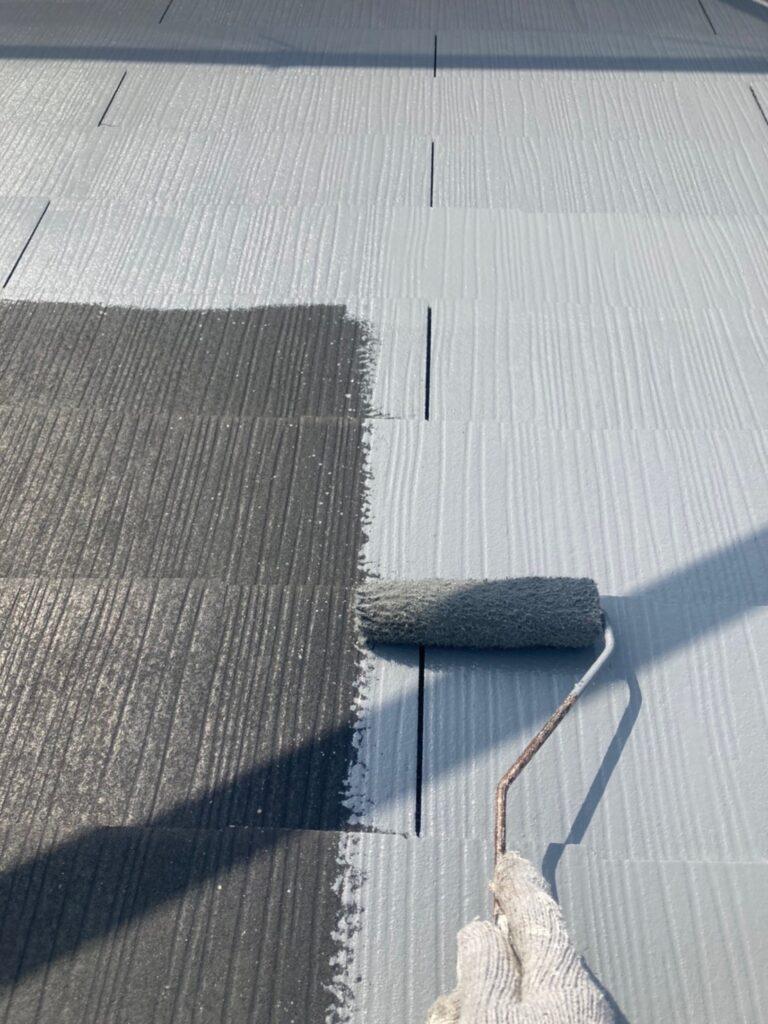 福岡市 外壁上塗りと屋根下塗り 写真18