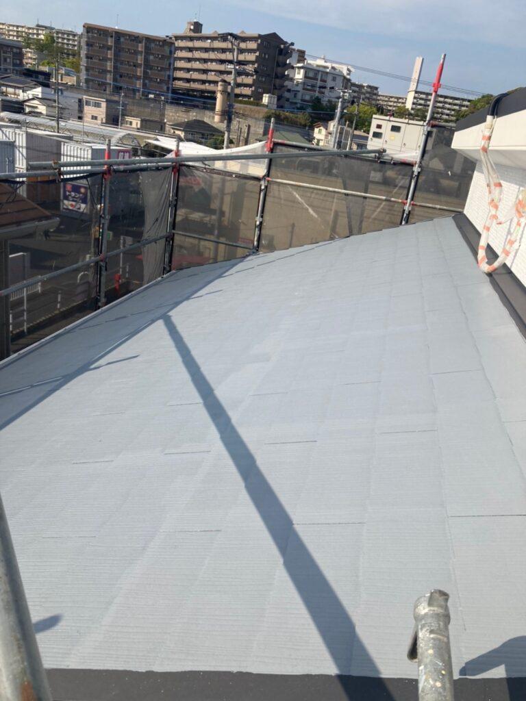 福岡市 外壁上塗りと屋根下塗り 写真19