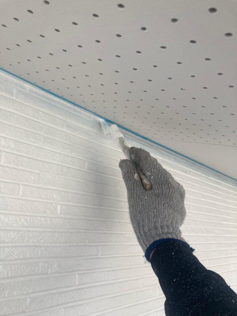 福岡市 外壁上塗りと屋根下塗り 写真7