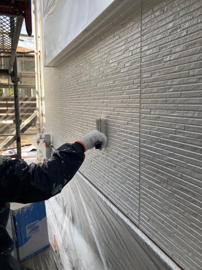 福岡市 外壁上塗りと屋根下塗り 写真9