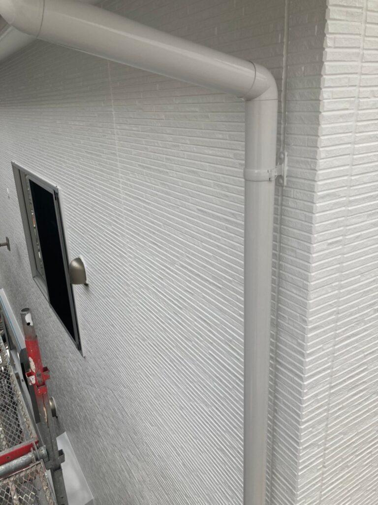 福岡市 屋根の中塗り・上塗りと付帯塗装① 写真11