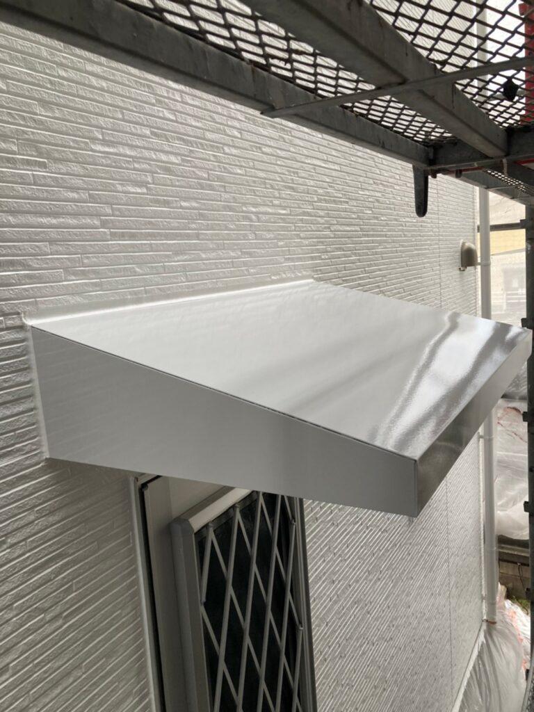 福岡市 屋根の中塗り・上塗りと付帯塗装① 写真12