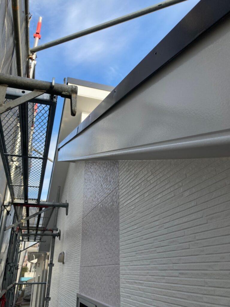 福岡市 付帯塗装②と腰壁塗装 写真15
