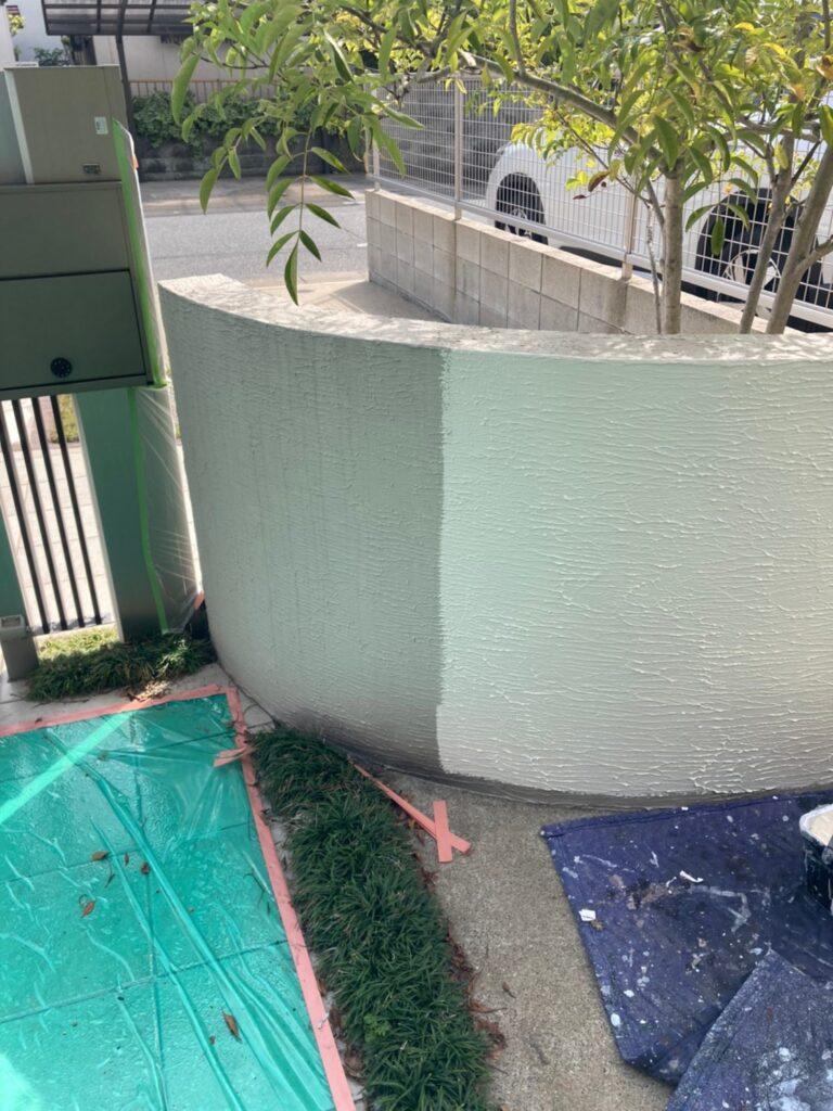 福岡市 付帯塗装②と腰壁塗装 写真22