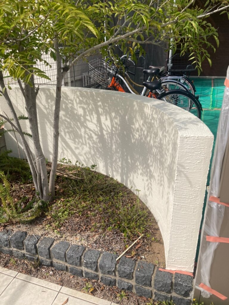 福岡市 付帯塗装②と腰壁塗装 写真23