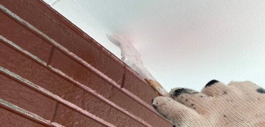 福岡市 腰壁上塗りと各所タッチアップなど