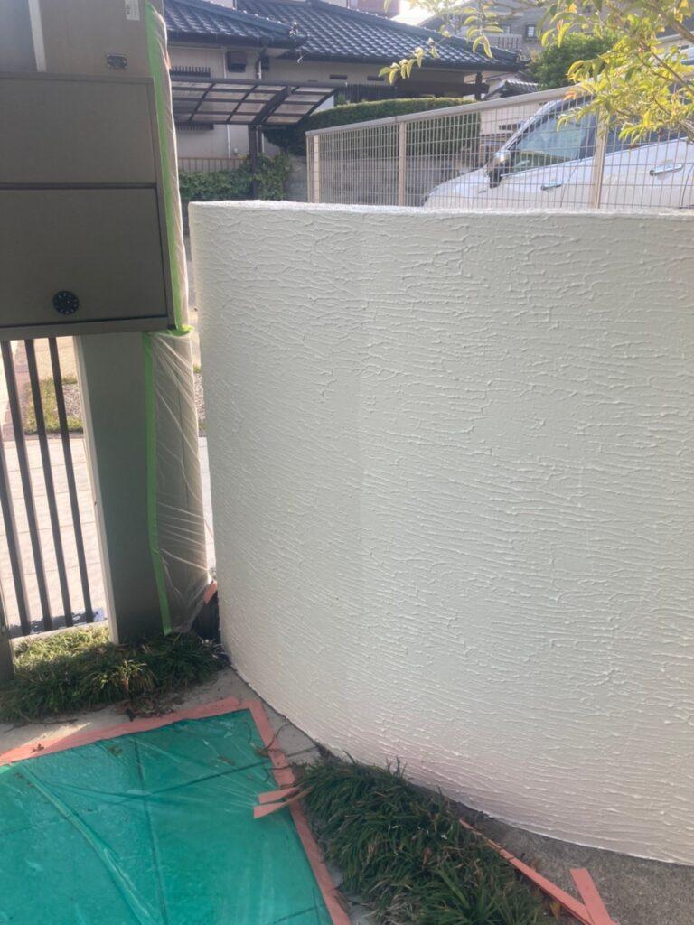 福岡市 腰壁上塗りと各所タッチアップなど 写真2