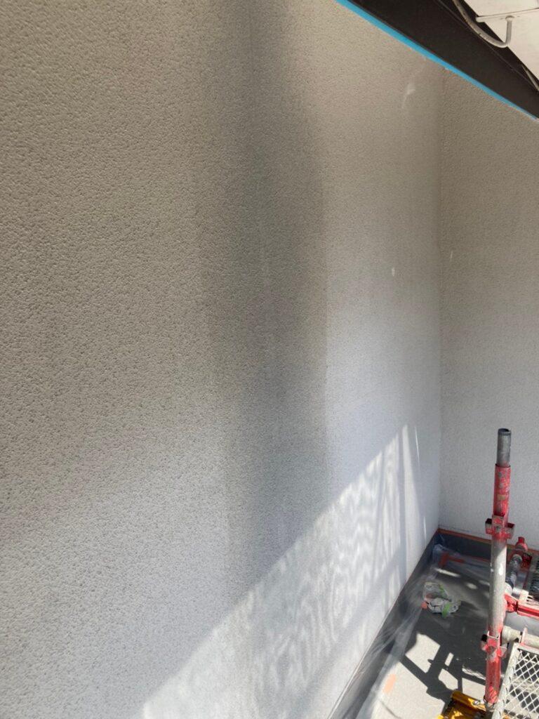 福岡市 外壁一部肌合わせと軒天塗装 写真12
