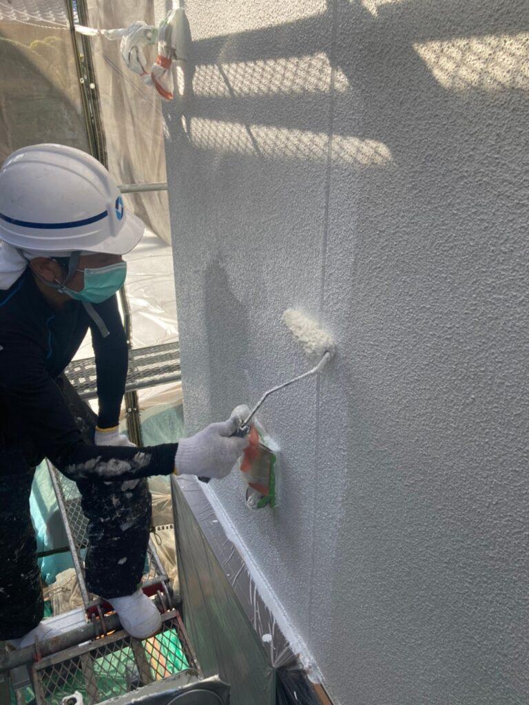 福岡市 外壁下塗り(マスチック工法) 写真3