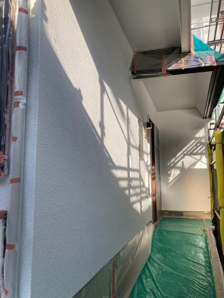 福岡市 外壁塗装 中塗り 上塗り 写真12