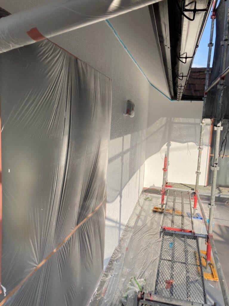福岡市 外壁塗装 中塗り 上塗り 写真14