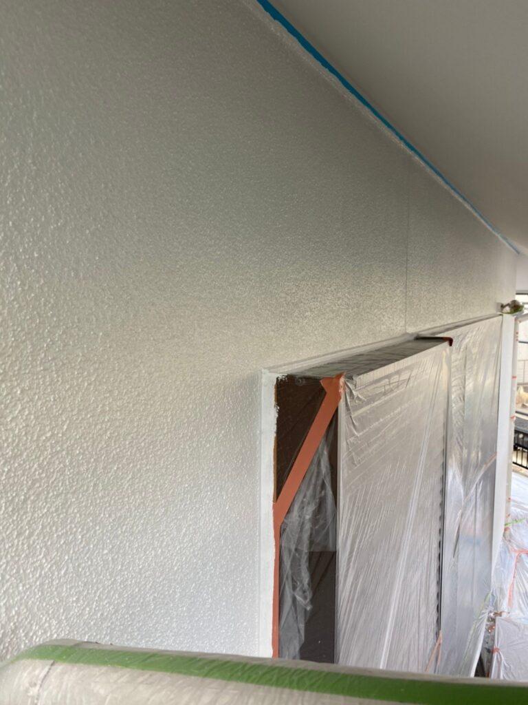 福岡市 外壁塗装 中塗り 上塗り 写真5