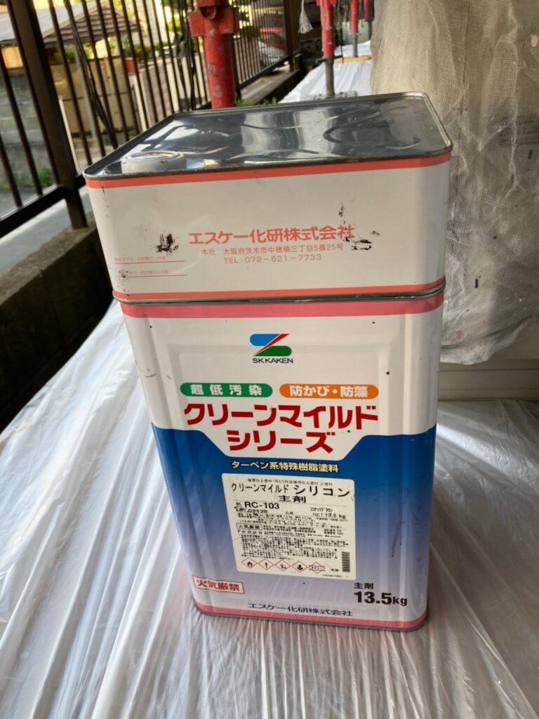 クリーンマイルドシリコン:福岡市 付帯塗装 写真9