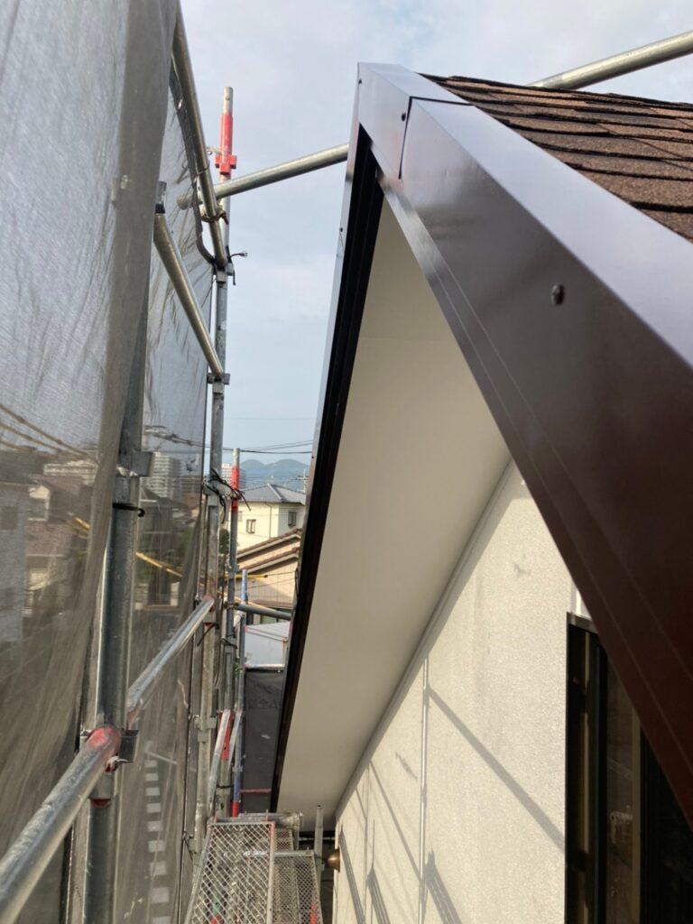 福岡市 付帯塗装 基礎巾木塗装 写真11