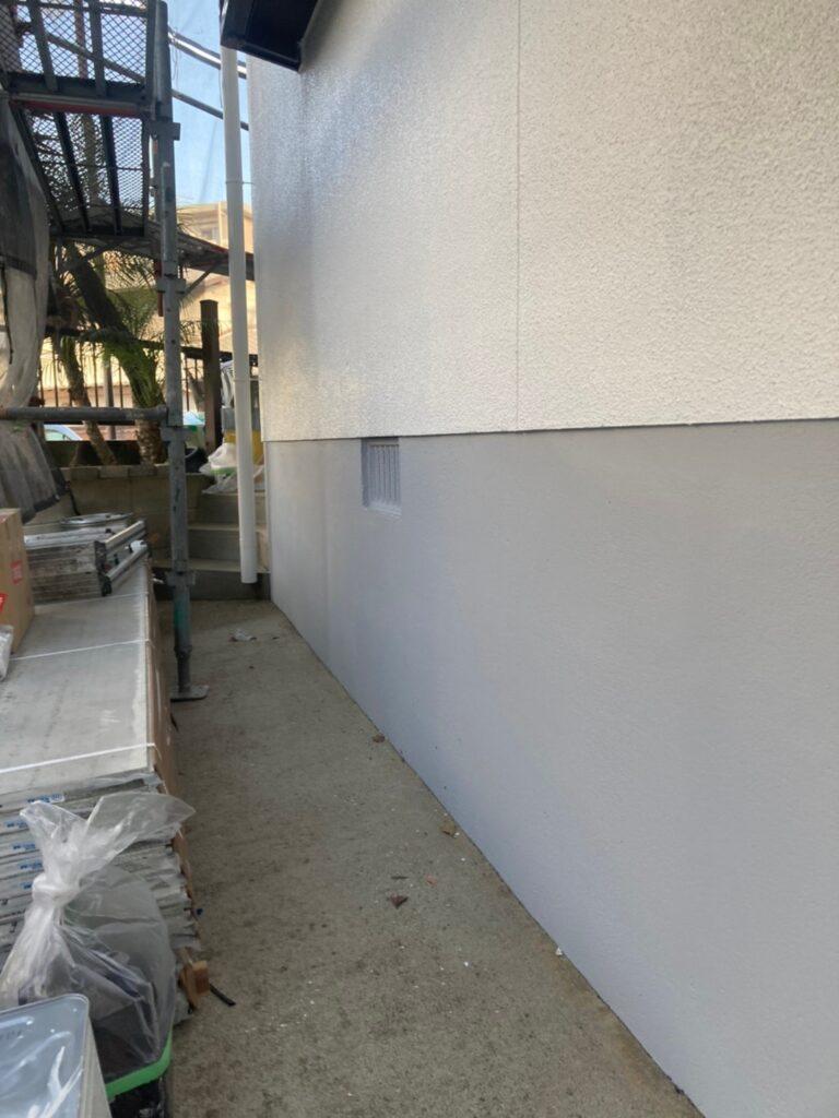 福岡市 付帯塗装 基礎巾木塗装 写真22