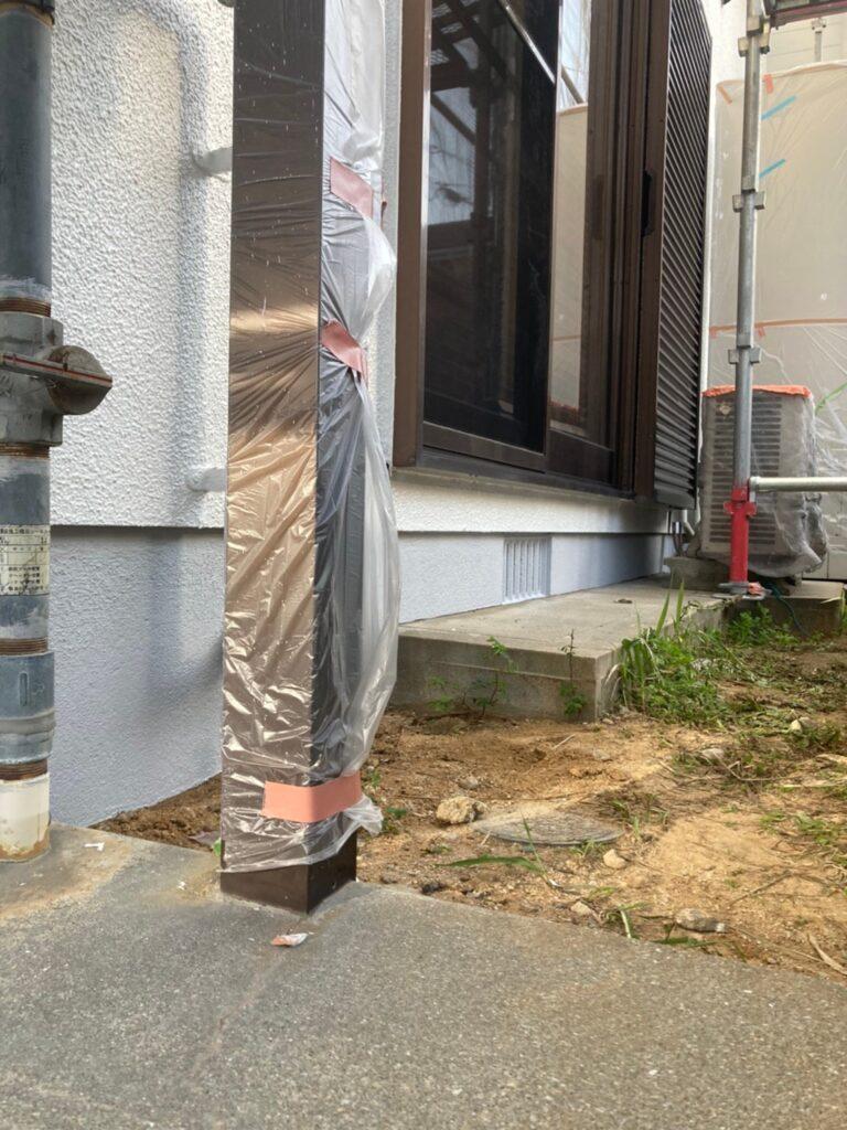 福岡市 付帯塗装 基礎巾木塗装 写真23