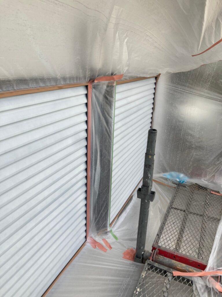 福岡市 付帯塗装 基礎巾木塗装 写真3