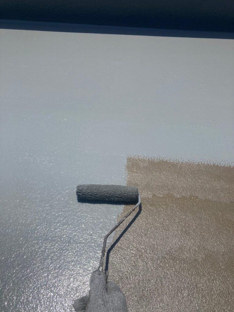 福岡市 付帯塗装 ベランダ防水塗装 写真11