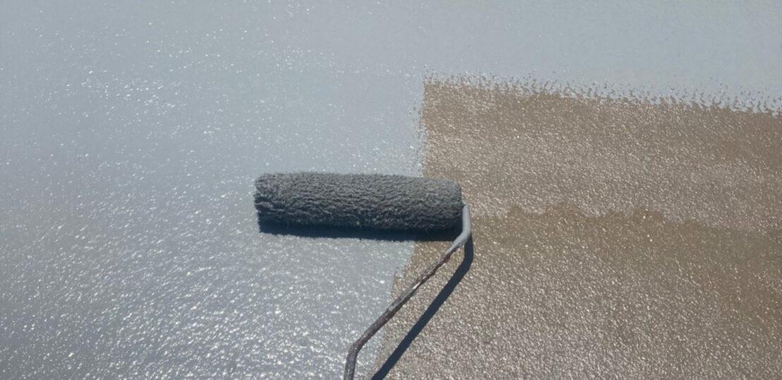 福岡市 付帯塗装とベランダ防水塗装
