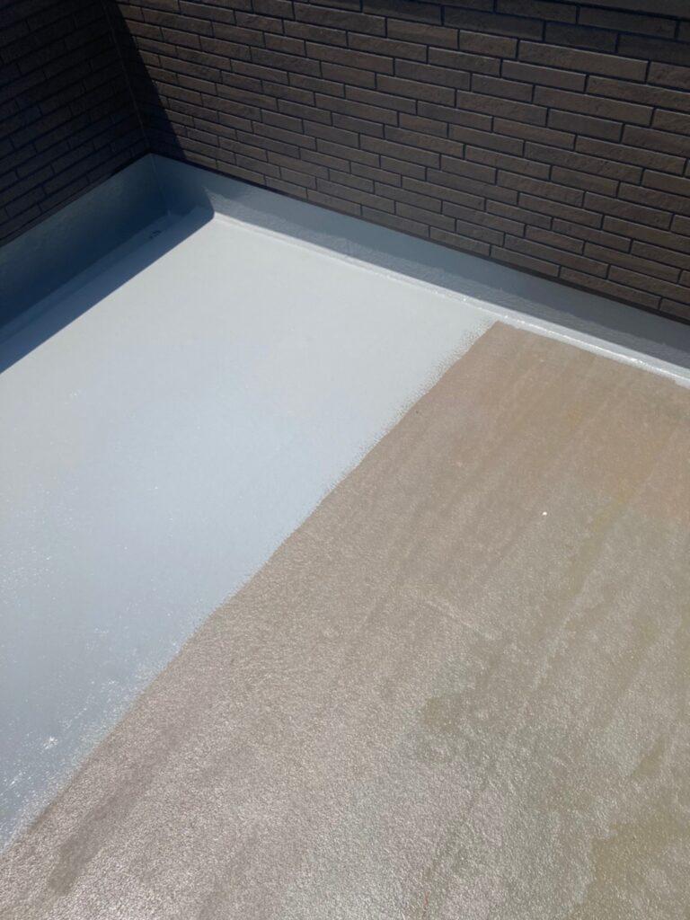 福岡市 付帯塗装 ベランダ防水塗装 写真12