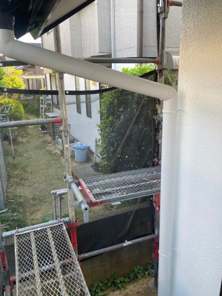 福岡市 付帯塗装 ベランダ防水塗装 写真6